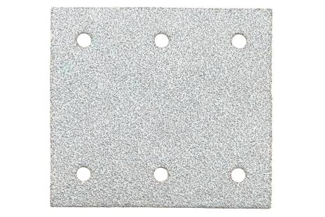 10 шліфувальних листів на липучках 115x103 мм, P 80, фарба, SR (625641000)