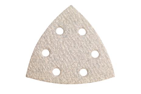 25 шліфувальних листів на липучках 93x93 мм, P 80, фарба, DS (625683000)