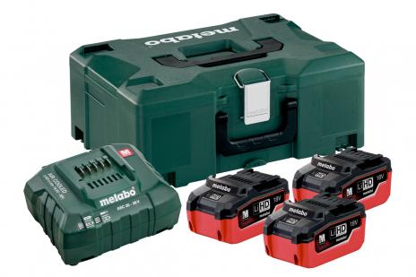 Базовий комплект 3 x LiHD 5.5 А·год + Metaloc (685069000)