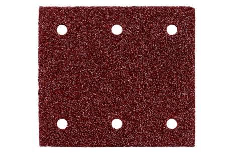 10 шліфувальних листів на липучках 115x103 мм, P 40, Д+М, SR (625619000)