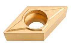 10 твердосплавних поворотних пластин, фаска 45°; ISO: DCMT 11 T 304 (623560000)