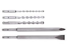 Набір зубил / свердел SDS-plus з 5 предметів (630477000)