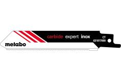 2 пильні полотна для шабельних пил, Inox, expert, 115x1,25 мм (631817000)
