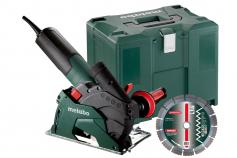 W 12-125 HD Set CED (600408500) Кутова шліфувальна машина