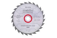 Пилкове полотно «precision cut wood - professional», 165x20 Z42 WZ 15° (628291000)