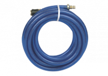 Compressed-air hoses with fabric insert