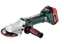 Cordless flat head angle grinder
