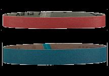 Grinding media for tube belt sanders