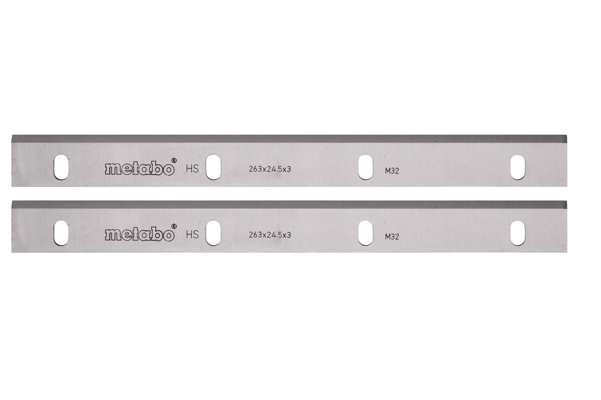 2 HSS planer blades 260 mm ADH 1626 (630545000)