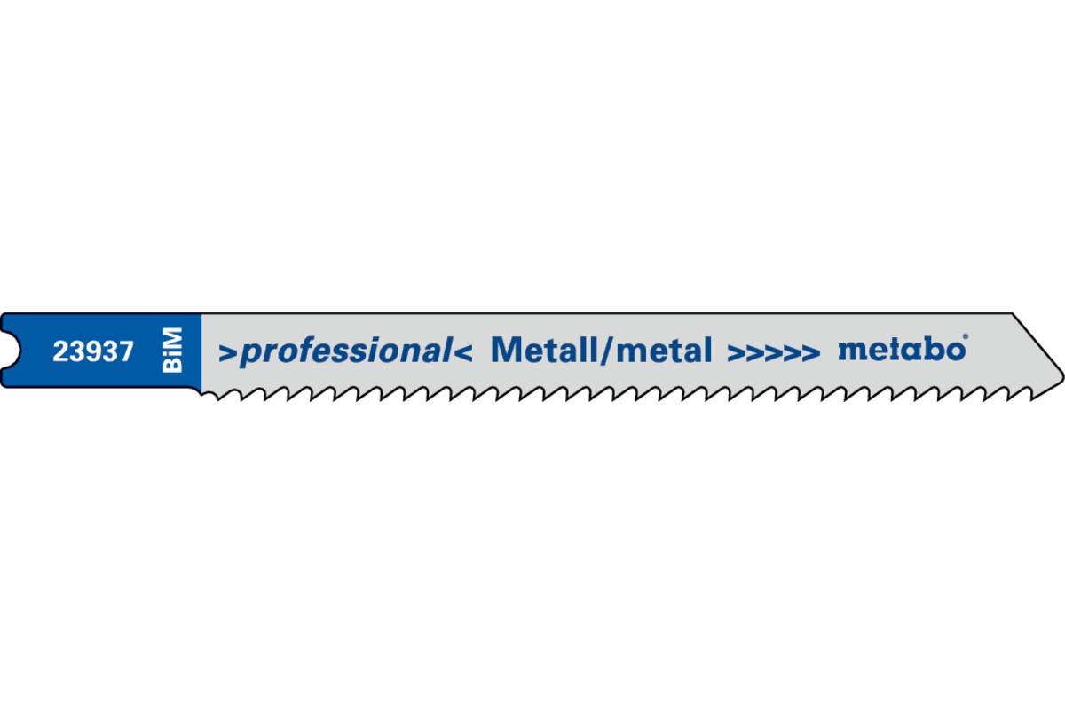 5 U-jigsaw blades,metal,profess.70/2.0mm (623937000)
