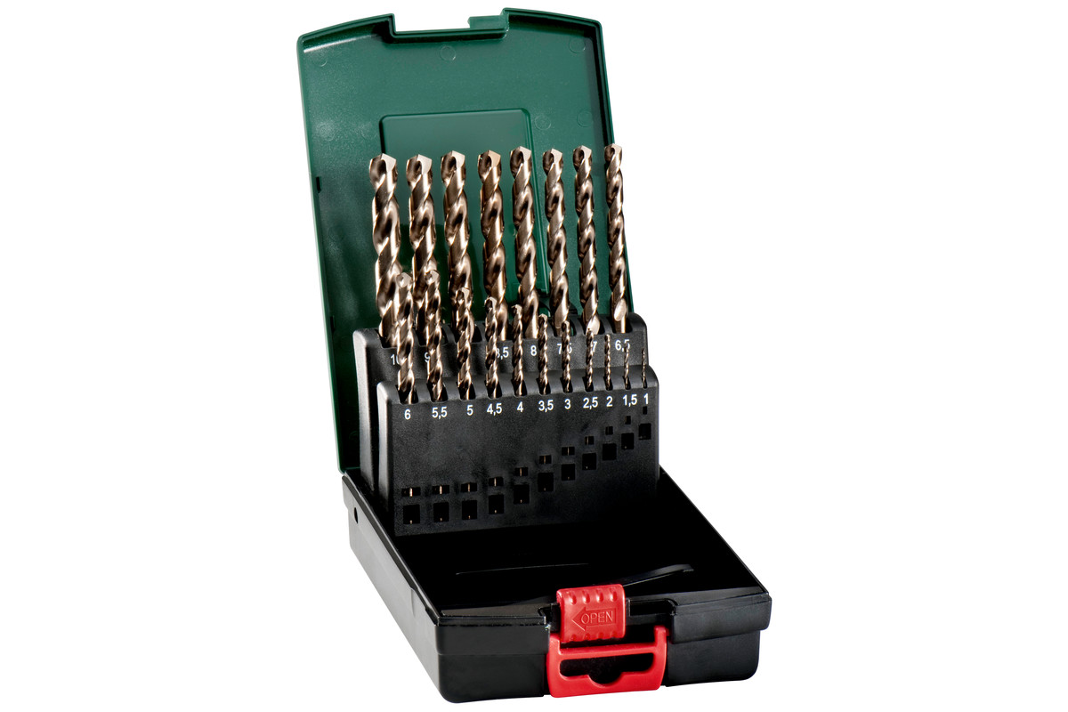 HSS-Co drill bit storage case, 19 pieces (627121000)
