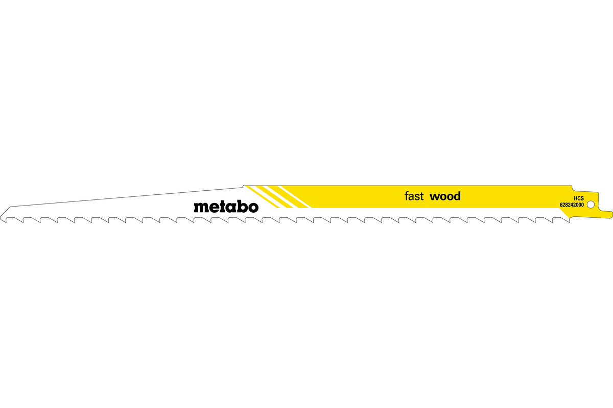 5 Sabre saw blades, wood, classic,300 x 1.25 mm (628242000)