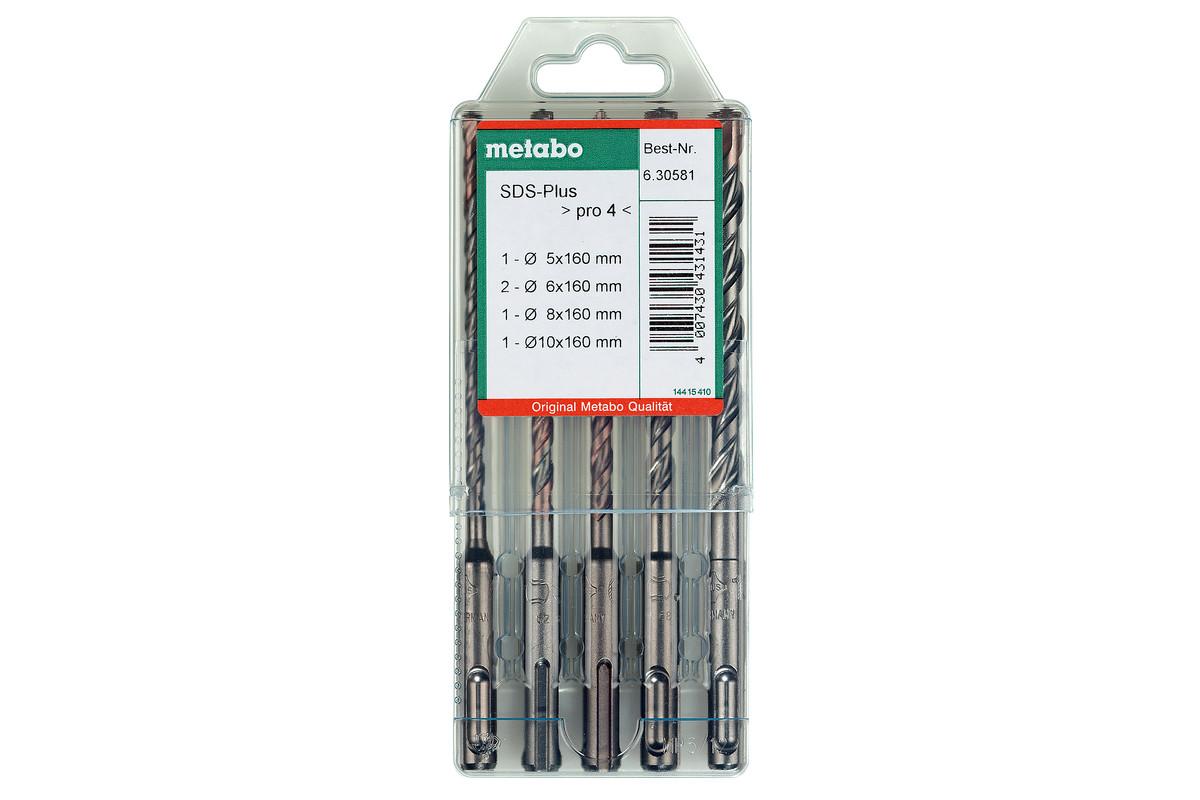 SDS-plus Pro 4 drill bit set, 5 pieces (630581000)