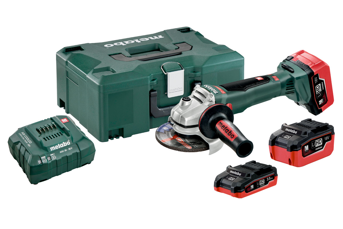 WB 18 LTX BL 125 Quick Set (613077930) Cordless Angle Grinders