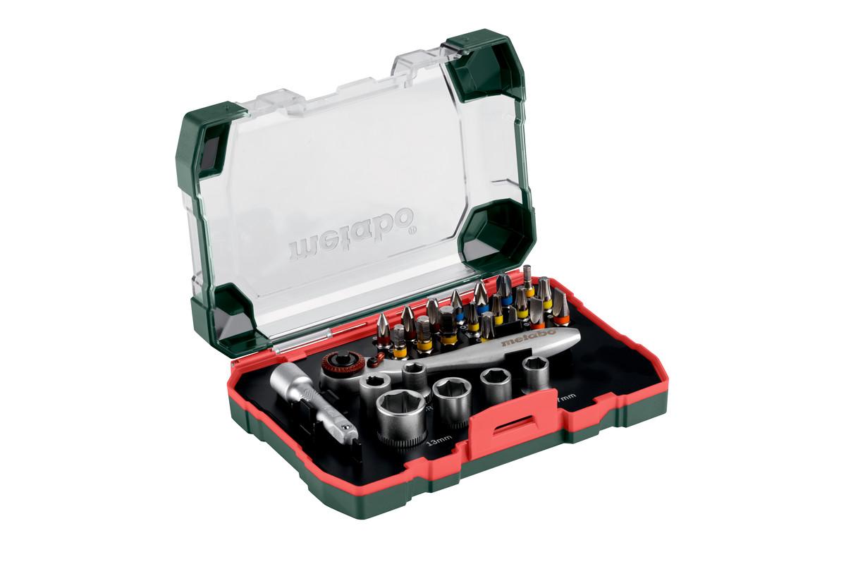 Bit and ratchet box SP, 26 pieces (626701000)