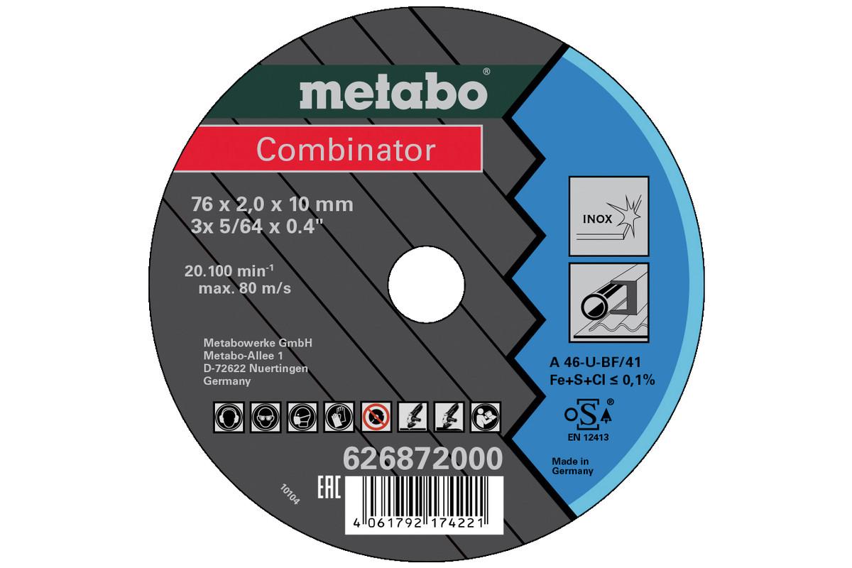 3 Combinator 76x2.0x10 Inox, TF 42 (626872000)