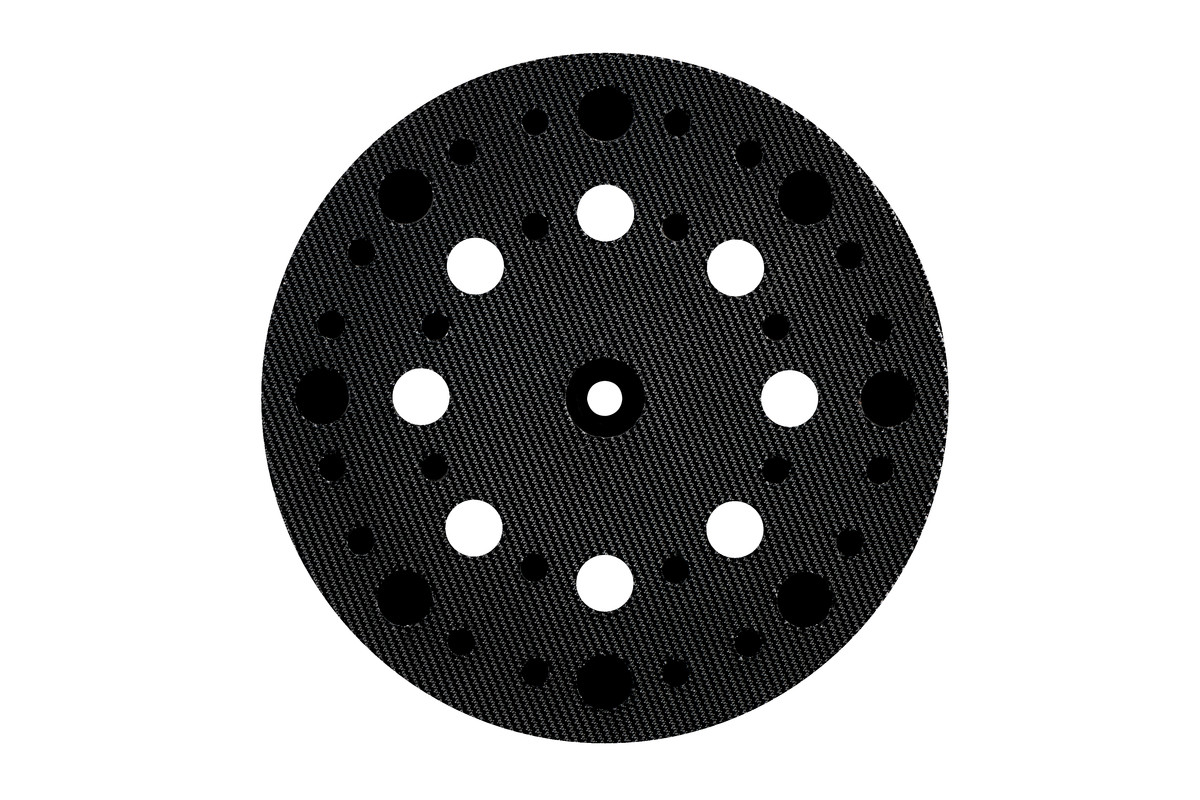 Backing pad 125 mm,soft,perforated,f. SXE 325 Intec (631220000)