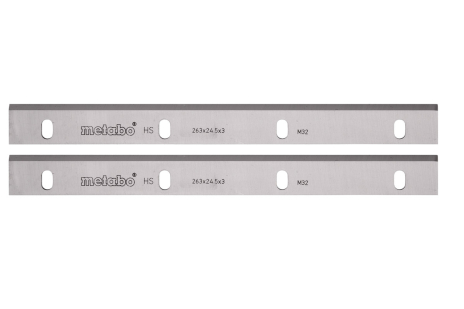 2 HSS planer blades 260 mm ADH 260 (630467000)