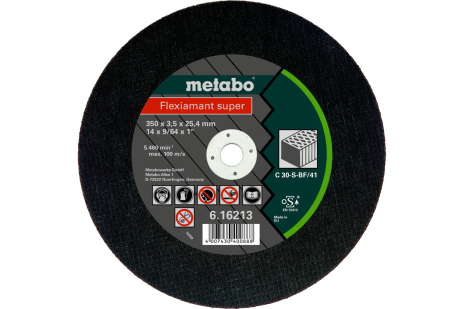 Flexiamant super 350x3.5x25.4 stone, TF 41 (616213000)