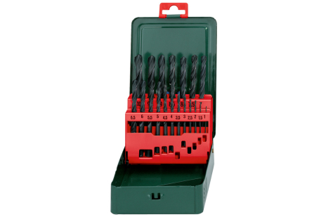 "HSS-R drill bit storage case, ""SP"", 19 pieces (627151000)"