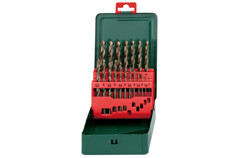"HSS-Co drill bit storage case, ""SP"", 19 pieces (627157000)"