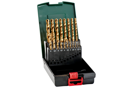 HSS-TiN drill bit storage case, 19 pieces (627173000)