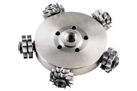 Cutting head flat head complete RFEV 19-125 RT (628219000)