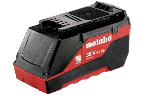 """Battery pack 36 V, 5.2 Ah, Li-Power Extreme, """"AIR COOLED"""" (625529000)"""