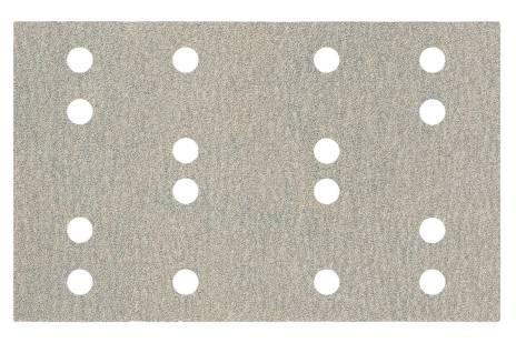 Hook and loop sanding sheets 80 x 133 mm, P 240, 16 holes, with hook and loop (SRA) (635203000)