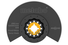 Segment saw blade, wood/metal, BiM, Ø85 mm (626960000)