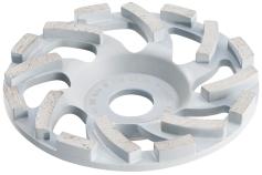 "Diamond cup grinding wheel abrasive ""professional"" Ø 125 mm (628206000)"