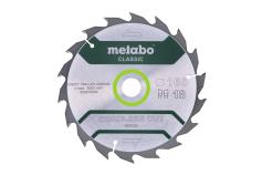 Circular saw blade HW/CT 160 x 20, 18 WZ 20°, classic (628272000)