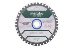"""Saw blade """"steel cut - classic"""", 165x20 Z40 FZFA/FZFA 4° (628273000)"""