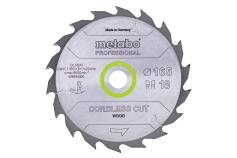 "Saw blade ""cordless cut wood - professional"", 165x20 Z18 WZ 20° (628294000)"