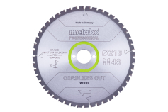 "Saw blade ""cordless cut wood - professional"", 216x30 Z48 WZ 5°neg (628445000)"