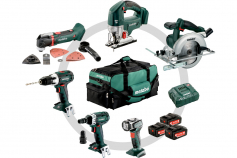 Combo Set 6.1 (691007000) Cordless Machines in a Set