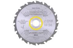 """Saw blade """"power cut wood - professional"""", 216x30, Z24 WZ 5° neg. (628009000)"""
