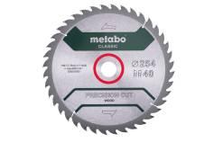 """Saw blade """"precision cut wood - classic"""", 254x30, Z40 WZ 20° (628325000)"""