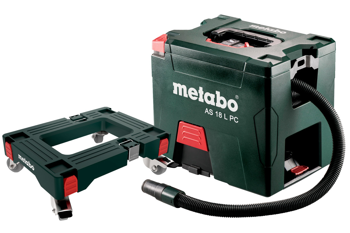 Set AS 18 L PC (691060000) Cordless Vacuum Cleaner | Metabo