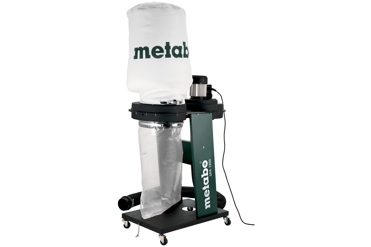 Metabo 601205380 SPA 1200 Chip and Dust Extraction Unit 240V