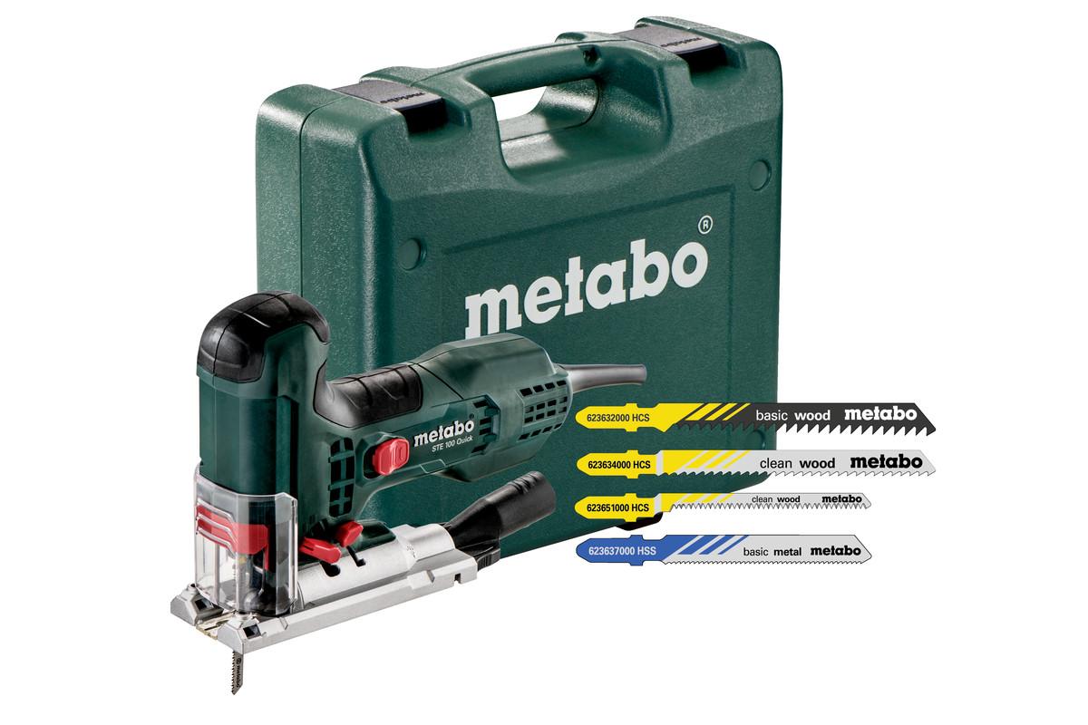 ste 100 quick set 601100900 jigsaw metabo power tools. Black Bedroom Furniture Sets. Home Design Ideas
