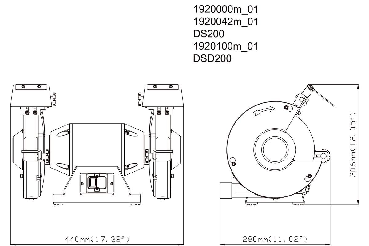 dayton grinder wiring diagram