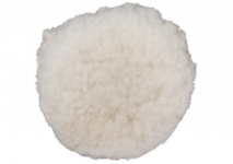 Lamb's wool polishing discs