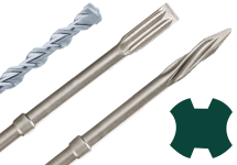 SDS-plus drill bits and chisels