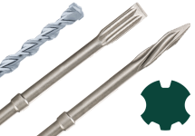 SDS-max drill bits and chisels