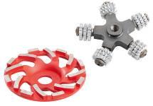 Hand held scarifier / grinder