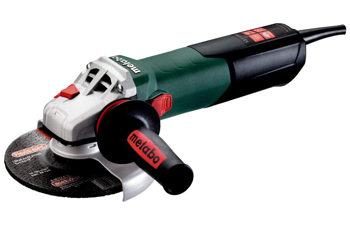 "WE 15-150 Quick (600464420) 6"" Angle grinder"