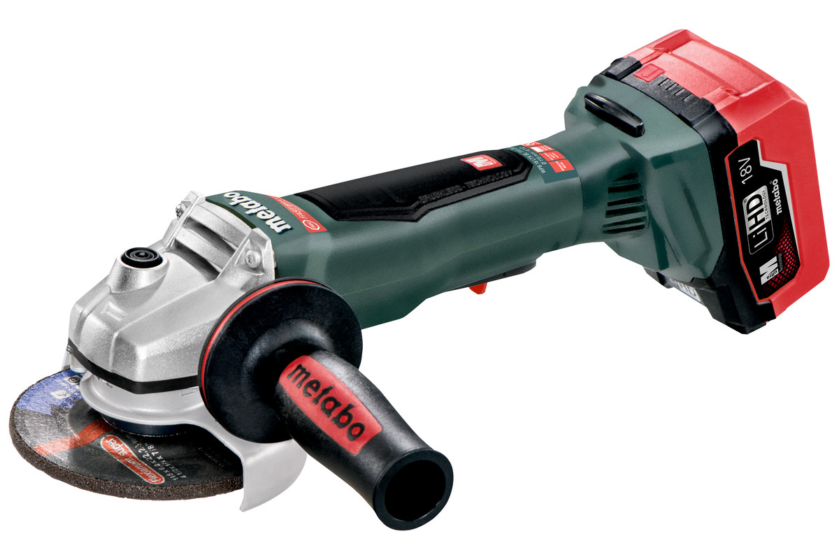 "WPB 18 LTX BL 115 Quick (613074620) 4 1/2"" Cordless Angle Grinder"