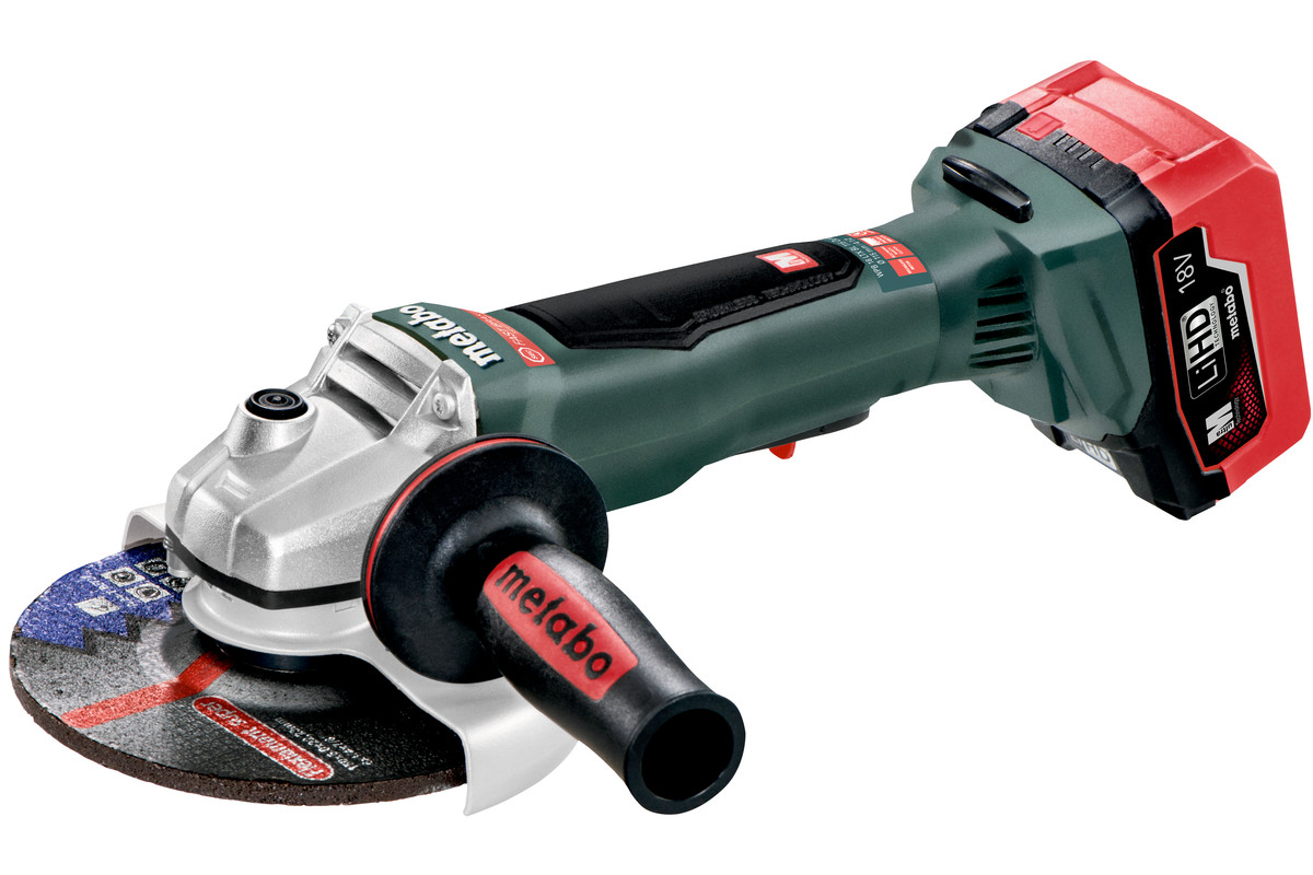 "WPB 18 LTX BL 150 Quick (613076640) 6"" Cordless Angle Grinder"