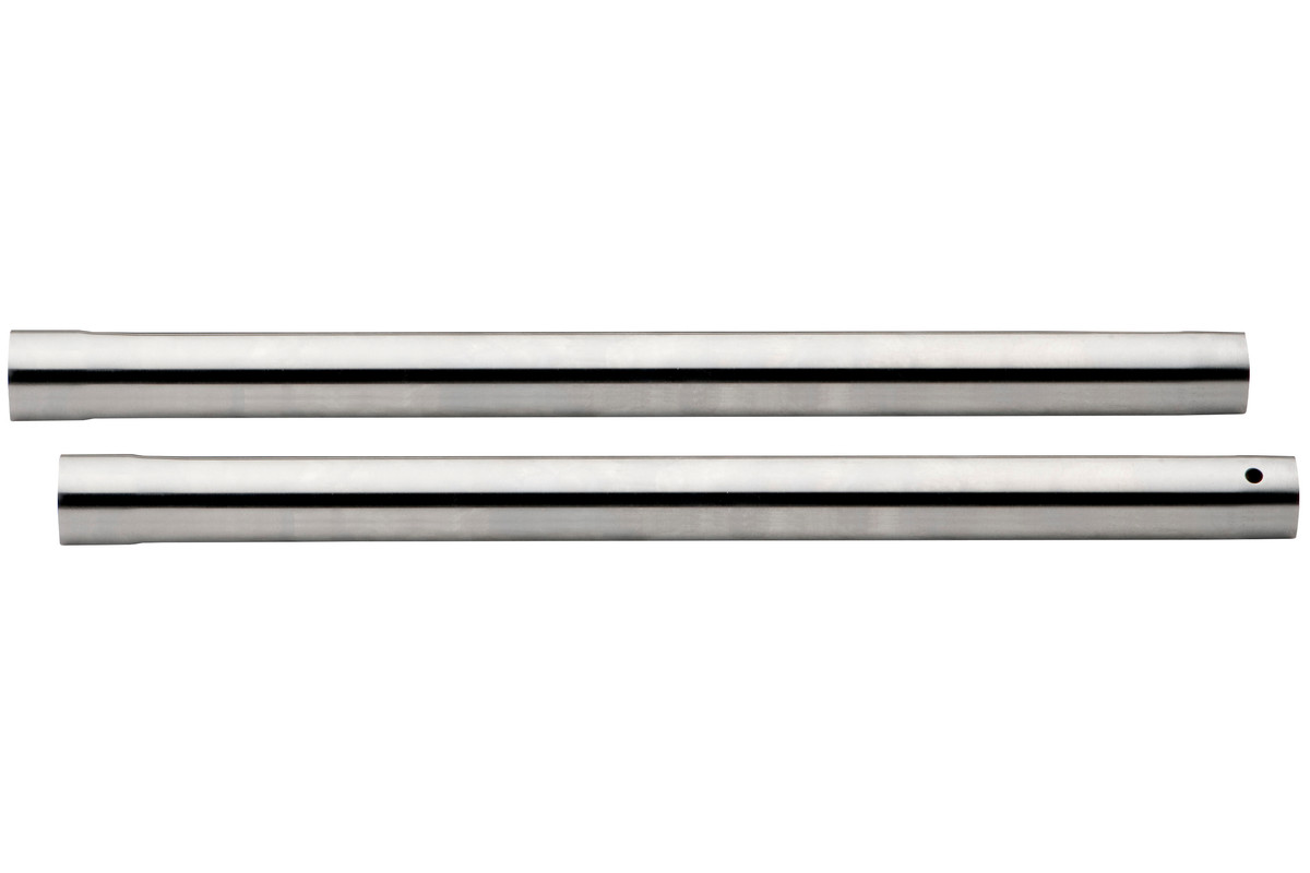 2 Suction pipes, Ø 35mm, 0.4m long, chrome-plated (631363000)
